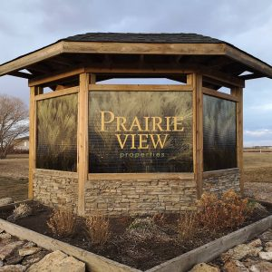 Prairie View Entrance